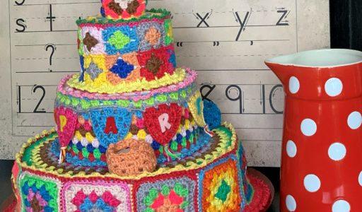 aan de haak blog 91 een granny square taart hoofdfoto
